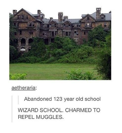 I see Hogwarts. I am a wizard!!!!!