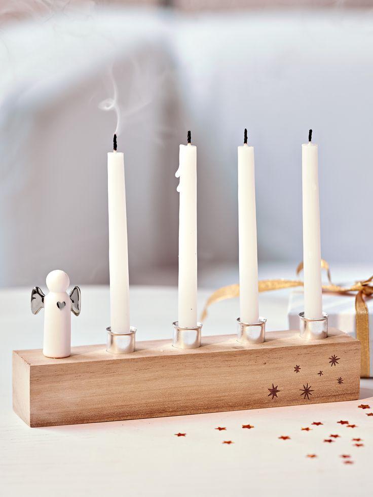 Kerzenhalter, Weihnachtsdekoration.