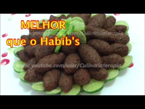 QUIBE FRITO TRADICIONAL COM TEMPEROS CLÁSSICOS MELHOR QUE O HABIB'S. POR CULINARIATERAPIA - YouTube