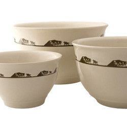 Running Horses Mixing Bowl Set