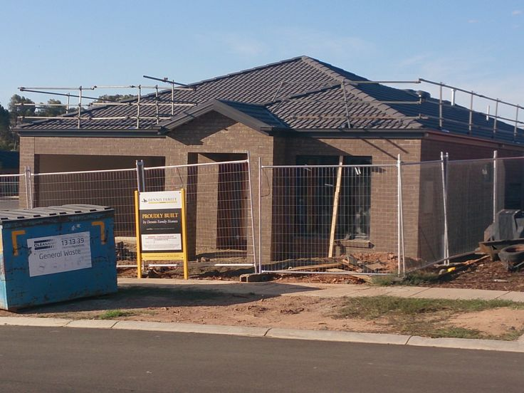 New house: needs render to front portico