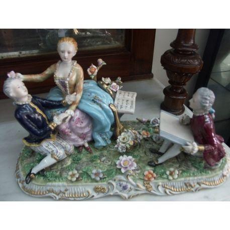 Figurine Meissen porcelain
