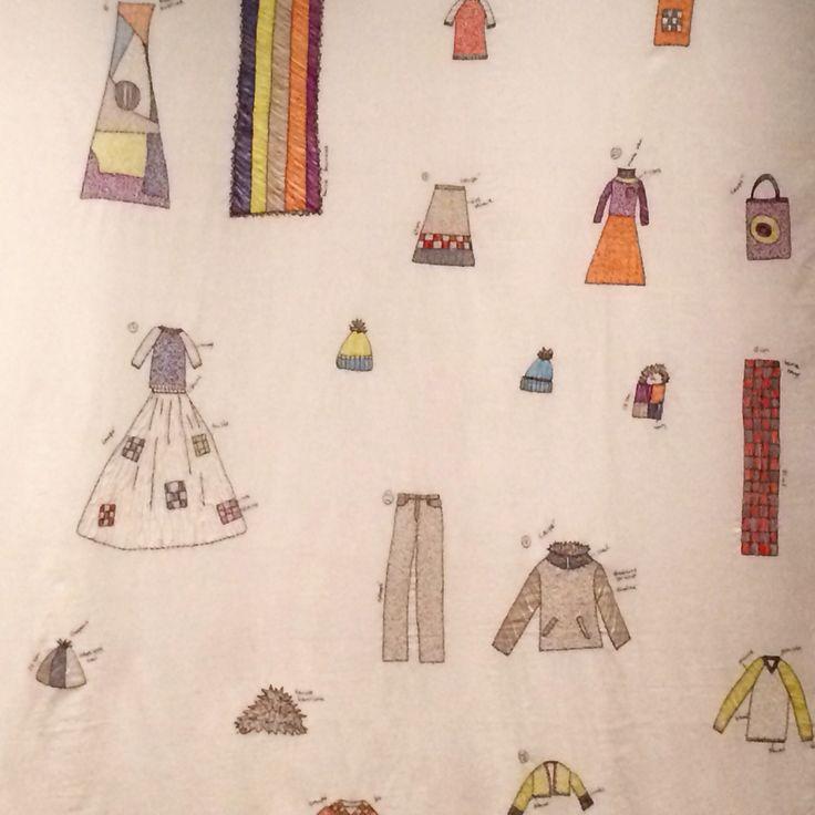 Julie skarland, embroidery 2011.