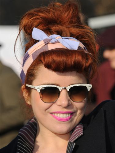 Paloma Faith's retro rolls