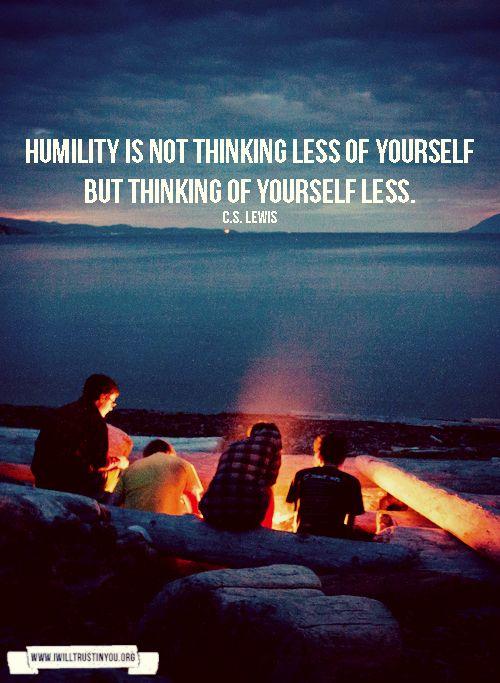 humility // CS Lewis