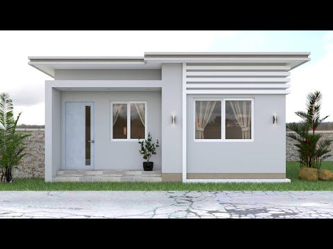 Small House Design 50 Sqm Youtube In 2020 Small House Design Australia Small House Design Philippines Small House Design Exterior