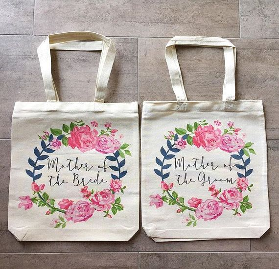 Mother Of The Bride and Mother Of The Groom Tote by IDoWeddingShop