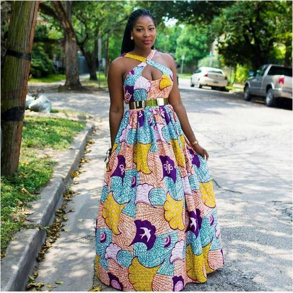 African Maxi Dress Styles 2018 African Attire African Fashion Dresses African Maxi Dresses