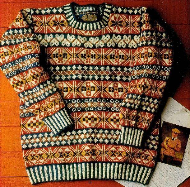 Жаккардовый пуловер. Обсуждение на LiveInternet - Российский Сервис Онлайн-Дневников