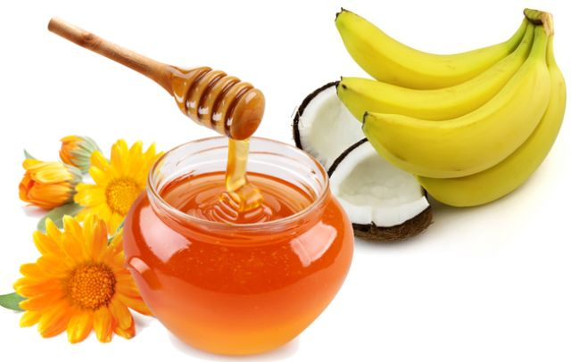 best-natural-homemade-hair-packs-for-dry-hair-banana-honey-hair-mask