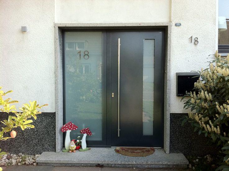 25+ Best Ideas About Haustür Glas On Pinterest | Innentüren Mit ... Veranda Mit Uberdachung Haus Fruhling