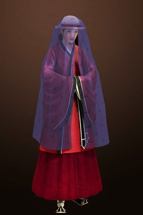'Mongsu' veil in Goryeo Dynasty- one of the luxury items among the noblewomen in this era.