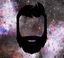 A Galaxy Full of Beard by Bearded Wonder Kid by Edwin Culling