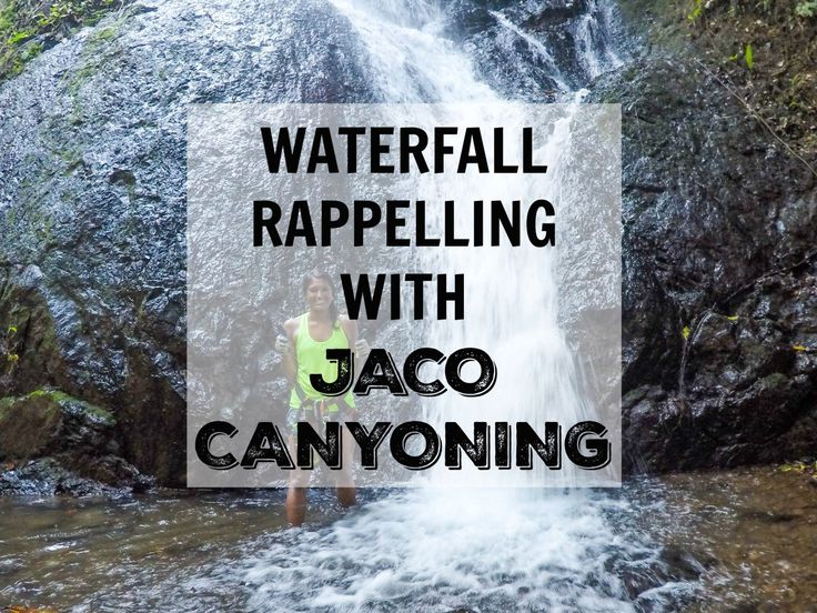I joinedJaco Canyoningon a waterfall rappelling and zip line adventure that was definitely something I'll be telling the grandkids about one day.
