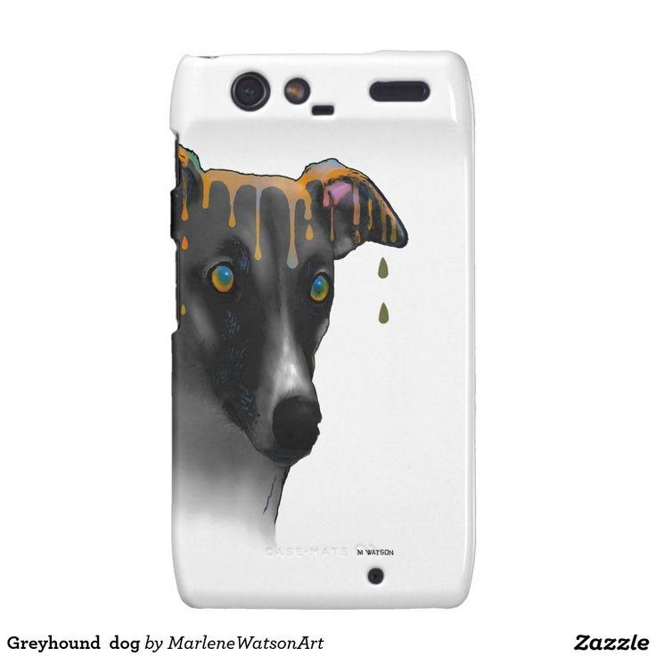 Greyhound  dog droid RAZR case