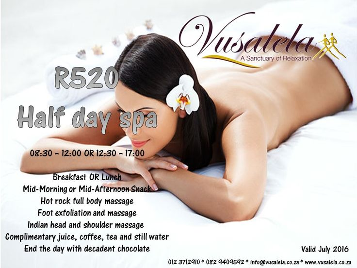 Don't miss out on this great special... #spa #vusalela #like #twitter #wednesday