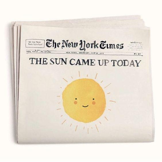 The Sun Came Up Today! By Alessandra Olanow – Alina Neumeier