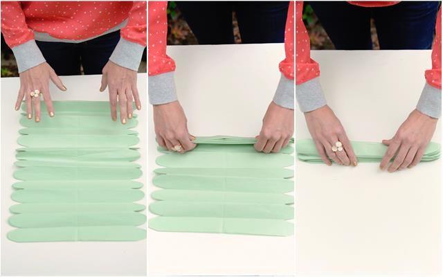 12 folhas de papal seda 13x20cm empilhar e dobrar estilo sanfona