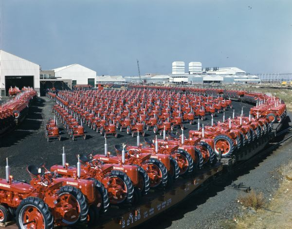 Farmall Tractors Ready for Shipment