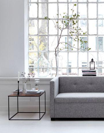 the coffee table. House Doctor Cube - soffbord | Artilleriet #greyvelvetloungeinspiration