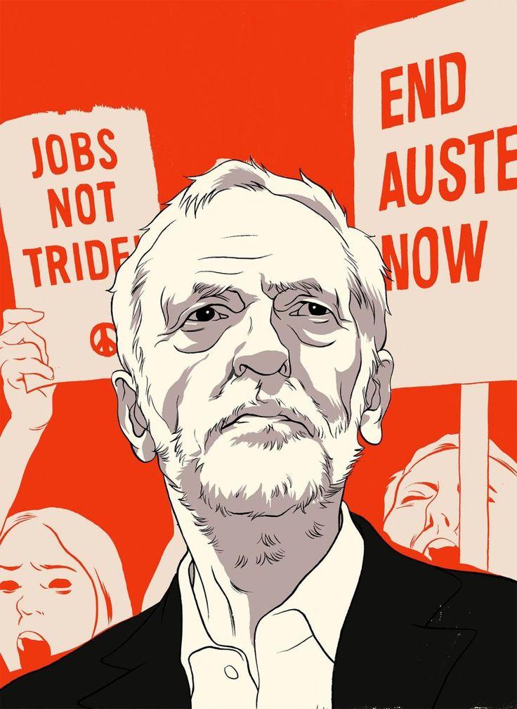 Jeremy Corbyn's ILLUSTRATION BY CUN SHI