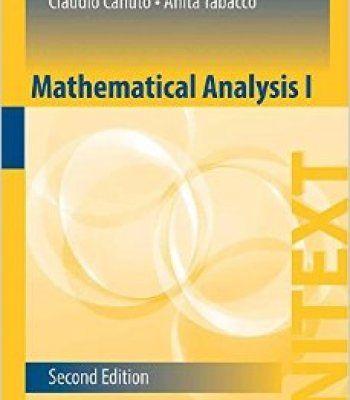 Mathematical Analysis I 2nd Edition PDF