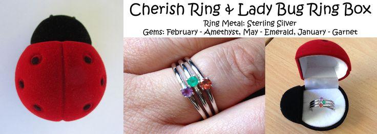 Cherish Daughter's Pride Ring from www.daughterspride.com