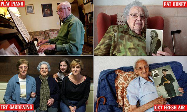 9 oldies in Spain's hub of centenarians give their tips on staying young | Daily Mail Online