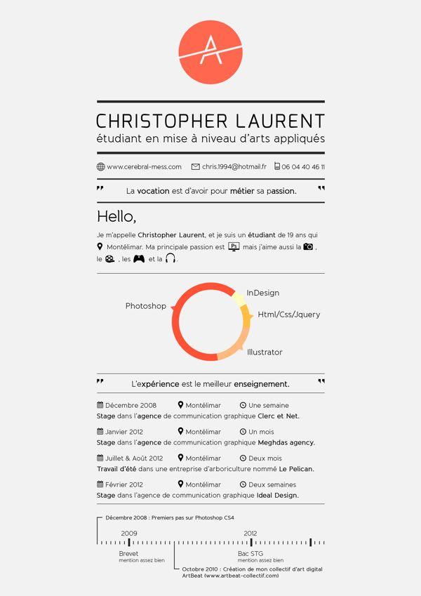 113 best CV images on Pinterest | Resume, Resume design and Cv design