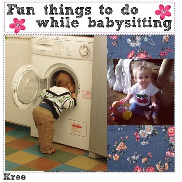 fun things to do while babysitting