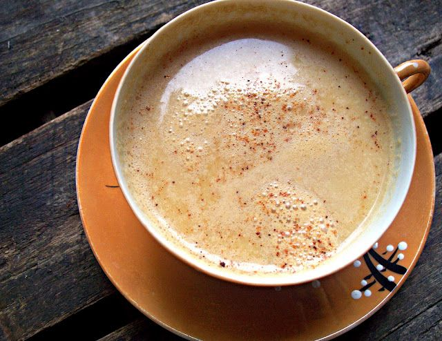 'Real Pumpkin' Spice Steamer/latte (Dairy/Soy Free)