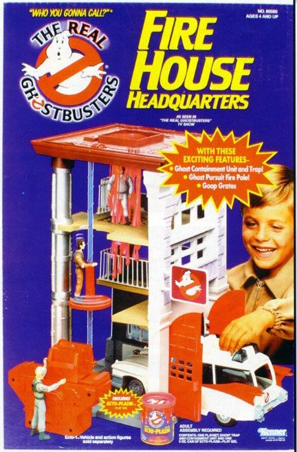 Ghostbusters Fire House,  My brother owned this, we may still have one. Mint in the box is workth $$$.