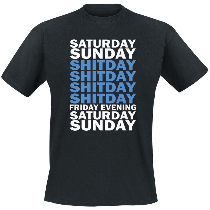 T-paita - Shitday