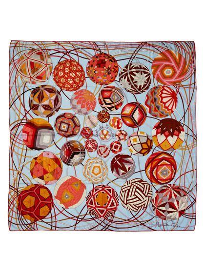 Cashmere and Silk Shawl  - L'Art du Temari