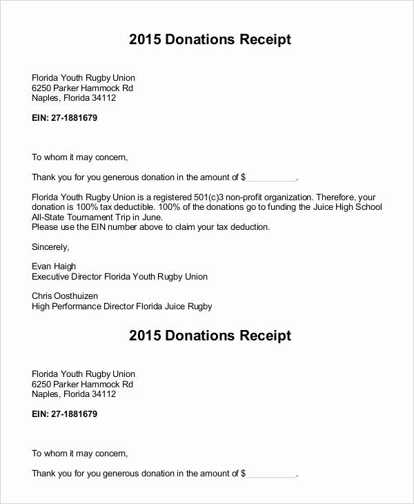 Donor Acknowledgement Letter Template Beautiful Donation Letter 9 Free Sample Example Formart Letter Templates Donation Letter Template Donation Letter
