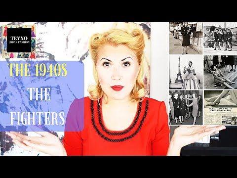 Here's my latest video! History of Fashion: The 1940s https://youtube.com/watch?v=igXzozvtHkQ