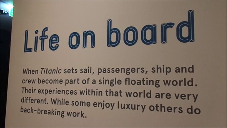 SeaCity Museum Southampton, Titanic Story