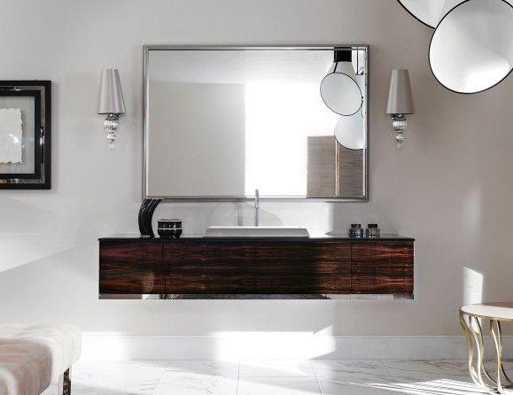 Milldue Four Seasons 13 Ebony Wood Luxury Italian Bathroom Vanities