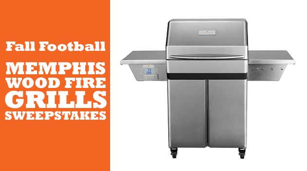 Fall Football Memphis Wood Fire Grills Sweepstakes