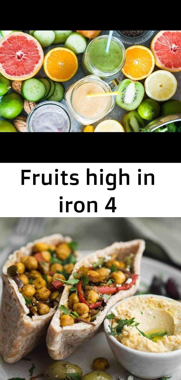 Fruits high iron protein reci Vegan VeggieShake