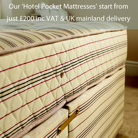 1000 Pocket Sprung Hotel Beds  http://linxbeds.co.uk
