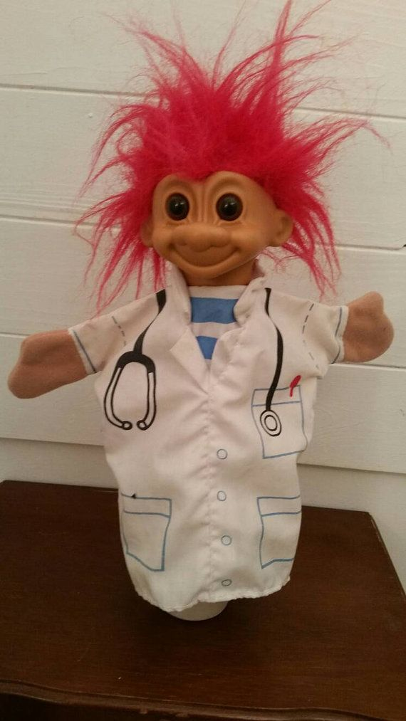 Check out this item in my Etsy shop https://www.etsy.com/ca/listing/266946830/vintage-doctor-russ-troll-have-puppet