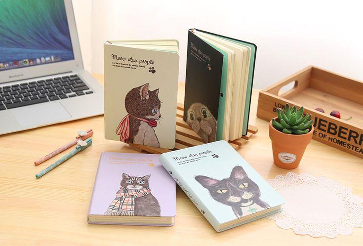 Cat Hardcover Notebook //Price: $25.64 & FREE Shipping //     #animals #animaldesign
