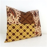 SH Batik Pillow Taupe