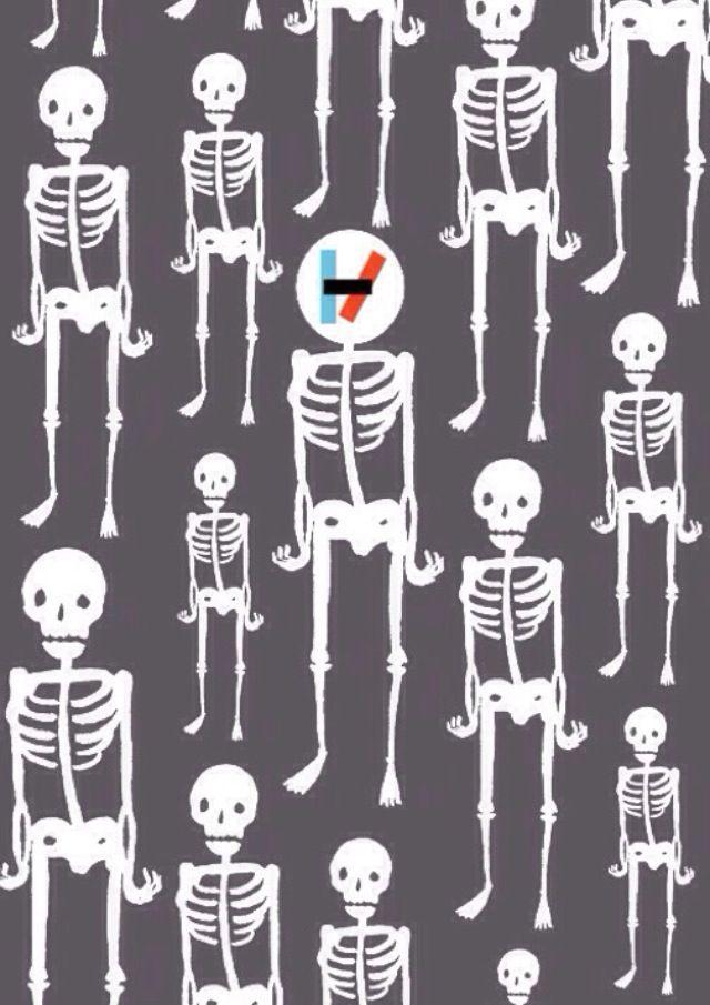 Twenty One Pilots skeleton clique