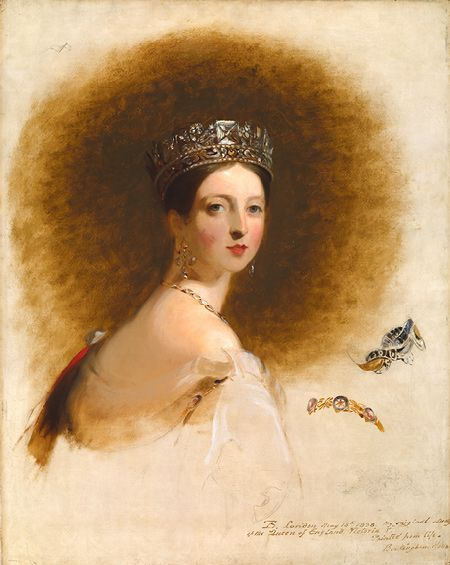 Thomas Sully, Queen Victoria, 1838