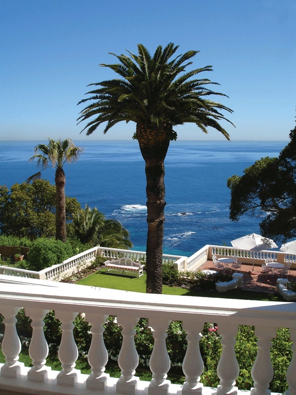 Relais & Chateaux - Overlooking the Atlantic Ocean and situated in the heart of one of the most exclusive suburbs, Bantry Bay, this elegant mansion is just ten minutes away from the V Waterfront and walking distance to Clifton and Camps Bay beaches. Ellerman House, South Africa #relaischateaux #southafrica