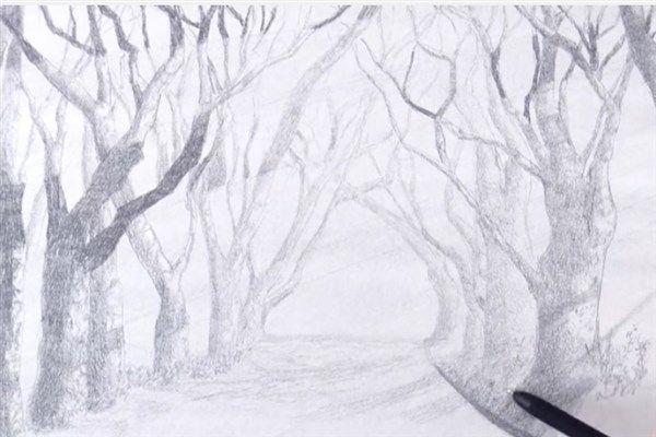 aprender a darle sombras a un paisaje 3