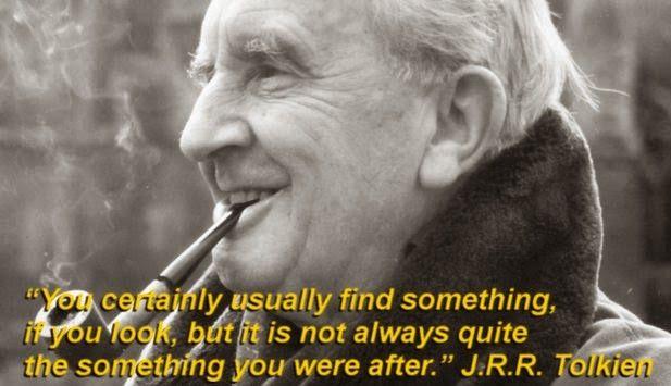 J.R.R. Tolkien quote