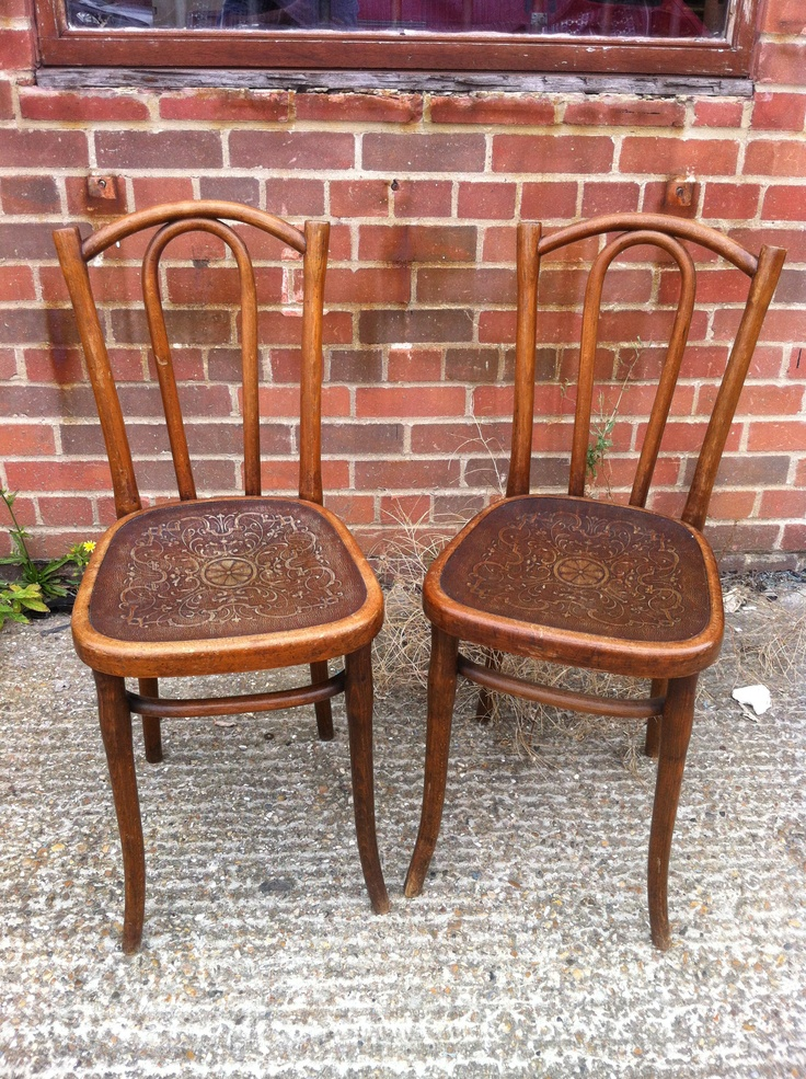 vintage original Thonet chairs